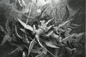 Lucifer before he became satan